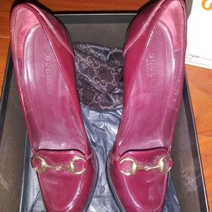 BRAND NEW GUCCI LOAFER PUMPS SIZE 7